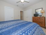 Guest Bedroom with King Bed at 8124 Wendover Dunes