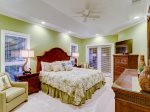 Master Bedroom with King Bed at 8134 Wendover Dunes