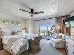Master Bedroom with Ocean Views on the Second Level