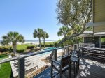 Large Oceanfront Deck at 8 East Beach Lagoon