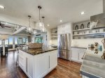 Newly Renovated in 2016 Kitchen with Ocean Views at 8 East Beach Lagoon