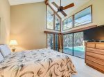 Master Bedroom with Pool Access at 8 Oyster Catcher
