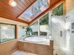 Master Bathroom with Separate Tub and Shower at 8 Oyster Catcher