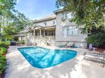 Spacious Pool & Deck at 9 Shelley Court - Palmetto Dunes Vacation Home