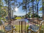Beautiful Views of Calibogue Sound from 2nd Floor at 1452 Sound Villa