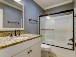 Bathroom with Shower/Tub Combo at 1452 Sound Villa