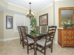 Dining Area with Seating for 6 at 5406 Hampton Place