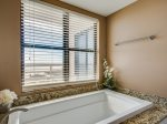 Separate shower in Guest Bedroom of 3433 Villamare in Palmetto Dunesr