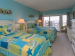 Guest Bedroom at 1888 Beachside Tennis