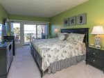 Master Bedroom with Ocean Views at 1888 Beachside Tennis