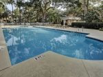 Large Pool Area at the Huntington Complex on Hilton Head Island