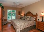 Master Bedroom at 7640 Huntington features a King bed and is loacted on the Main level