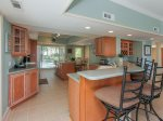 Eat in Kitchen with Breakfast bar at 6 Man O War in Palmetto Dunes