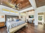 Second Master Suite with King Bed at 18 Brigantine
