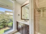 Private Guest Bathroom with Shower at 18 Brigantine