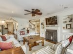 Spacious Southern charm in the living area at 4 Pyxie