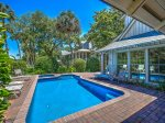 Pool Deck with Golf Course Views at 4 Pyxie