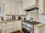 Kitchen with Golf Course Views at 4 Pyxie