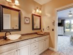 First Floor Master Bathroom has a Double Vanity3 Pyxie