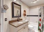 Private bathroom off King Guest Bedroom in 3 PyxieHilton Head Vacation Rental