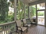 Screened Porch at 3 Pyxie in Sea Pines