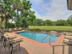 Plenty of Room to Gather Around the Pool at 3 Pyxie Easy Access to the Lagoon Too