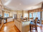 Updated, Fully Equipped kitchen in this Sea Pines Vacation Home3 Pyxie