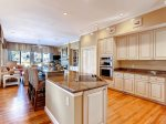 Kitchen Opens to a second living area in 3 PyxieHilton Head Vacation Home