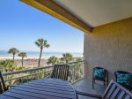 Oceanfront Balcony at 473 Captains Walk