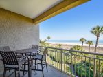 Outdoor Balcony with Direct Ocean Views at 473 Captain`s Walk