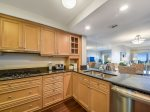 Kitchen at 473 Captains Walk