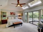 Master Bedroom with King Bed at 3 Battery Road