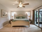 Master Bedroom with King Bed 58 Dune Lane