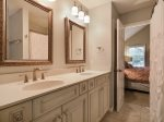 Jack n Jill Guest bathroom with Shower/Tub Combo at 58 Dune Lane