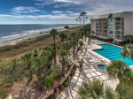 View from 1406 Villamare in Palmetto Dunes
