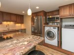 Renovated Kitchen with Washer/Dryer at 1406 Villamare