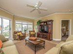 Spacious Living Area at 5403 Hampton Place offers access to the balcony