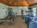 Fitness Center at Hampton Place is available for guest use