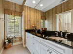Private Master Bath with Double Vanity at 39 Dune Lane