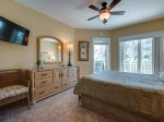 Queen Bedroom with Balcony Access at 2318 Windsor II