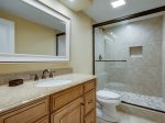 Beautifully Renovated Guest Bath with Step in Shower at 2318 Windsor II
