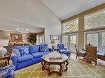 The open floor plan in 1469 Sound Villa provides plenty of room for an extended family