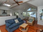 Open Living Area with Water Views of Braddock Cove on the Second Level
