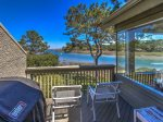 Balcony off Kitchen and Living Room with Gorgeous Views of Braddock Cove Club