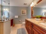 Recently Remodeled Master Bathroom at 3201 Sea Crest