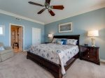 Second Master Bedroom with King Bed at 3201 Sea Crest
