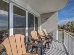 Main Balcony with Ocean Views at 3201 Sea Crest
