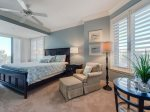 Master Bedroom with King Bed at 3201 Sea Crest
