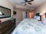 Second Guest Bedroom at 2315 Sea Crest has 2 Queen beds and a flat panel TV