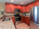 Fully equipped Kitchen in 2315 Sea Crest was recently renovated with granite countertops and new appliances